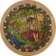 Καστάμπολη: Το έθιμο της κούνιας. (Του Ευαγγελισμού και την πρωτομαγιά φτιάχναν κούνιες, κουνιόταν τα κορίτσια και τραγουδούσαν). Συνέχεια του αρχαίου εθίμου της αιώρας.